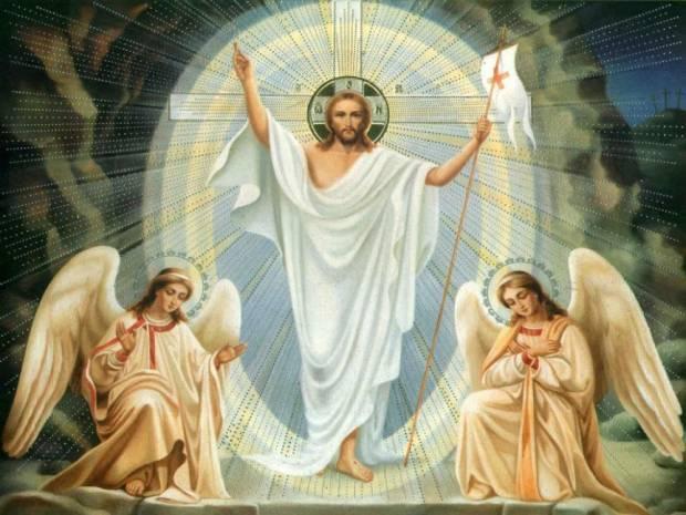 Jesus Cristo Ressuscitado no texto É Hoje! A Páscoa da Ressurreição de Nosso Senhor Jesus Cristo