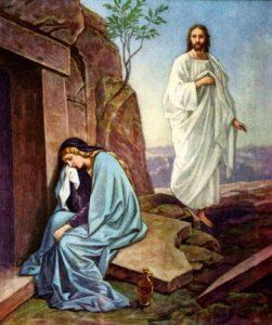 Maria Madalena e Nosso Senhor Jesus Cristo