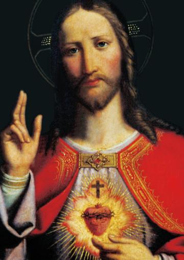Sagrado Coração de Jesus no texto O que é agradar a Deus? Descubra a resposta aqui.