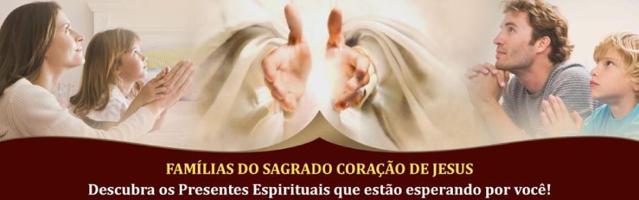 Botão das Famílias do SCJ no texto Novena ao Espírito Santo - 1º Dia