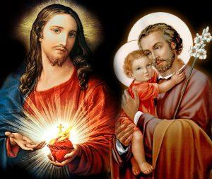 Missa do Coração de Jesus e São José pedindo Proteção, Paz e Graças nas Famílias!