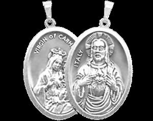 Medalha do Escapulário de Nossa Senhora do Carmo