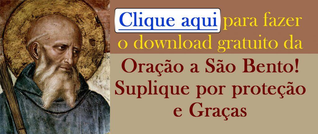 Download gratuito da Oração a São Bento